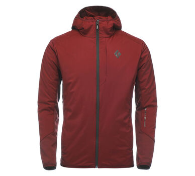 First Light Hybrid Hoody, Red Oxide, large