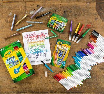 Crayoligraphy Calligraphy Kit