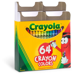 The Crayola Custom 64 Crayon Box