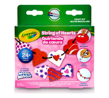 Model Magic Craft Kit String of Hearts