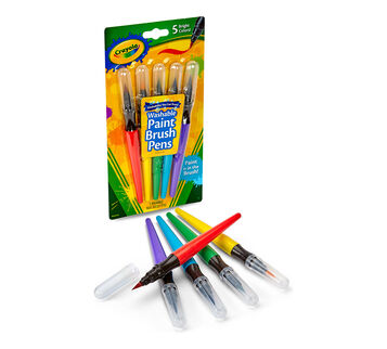 Paint Brush Pens, Classic 5 ct.