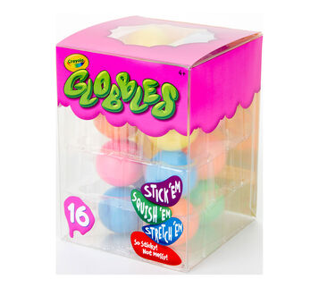 16 count Globbles left angle