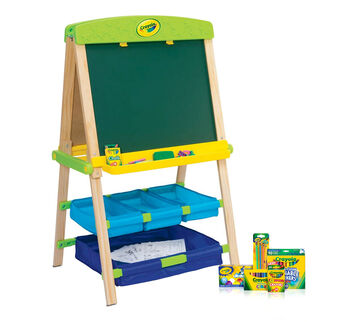 Draw n Store Wood Easel Deluxe Kit