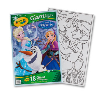 Giant Coloring Page - Frozen