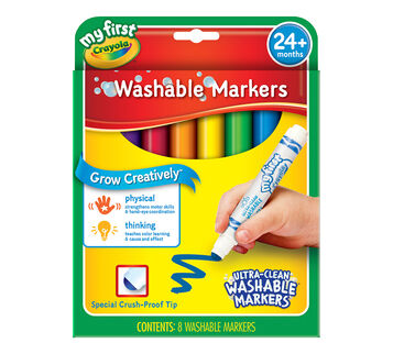 My First Crayola Washable Markers 8ct.
