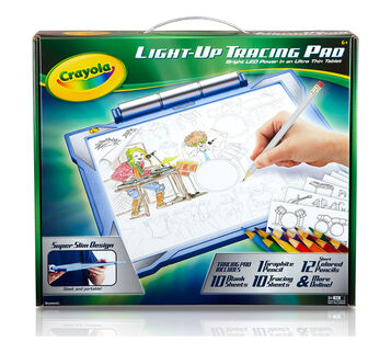 Light UP Tracing Pad-Blue Front View