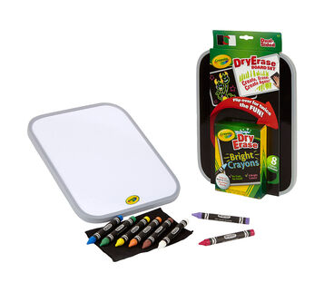 Dual Sided Dry Erase board White and black board