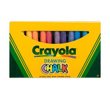 Assorted Colors Art Chalk 24 ct.
