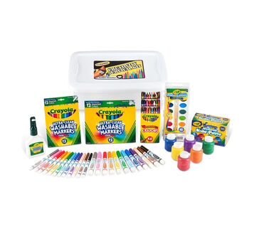 Deluxe Back to School Supplies Kit with Markers (Grades K-3)