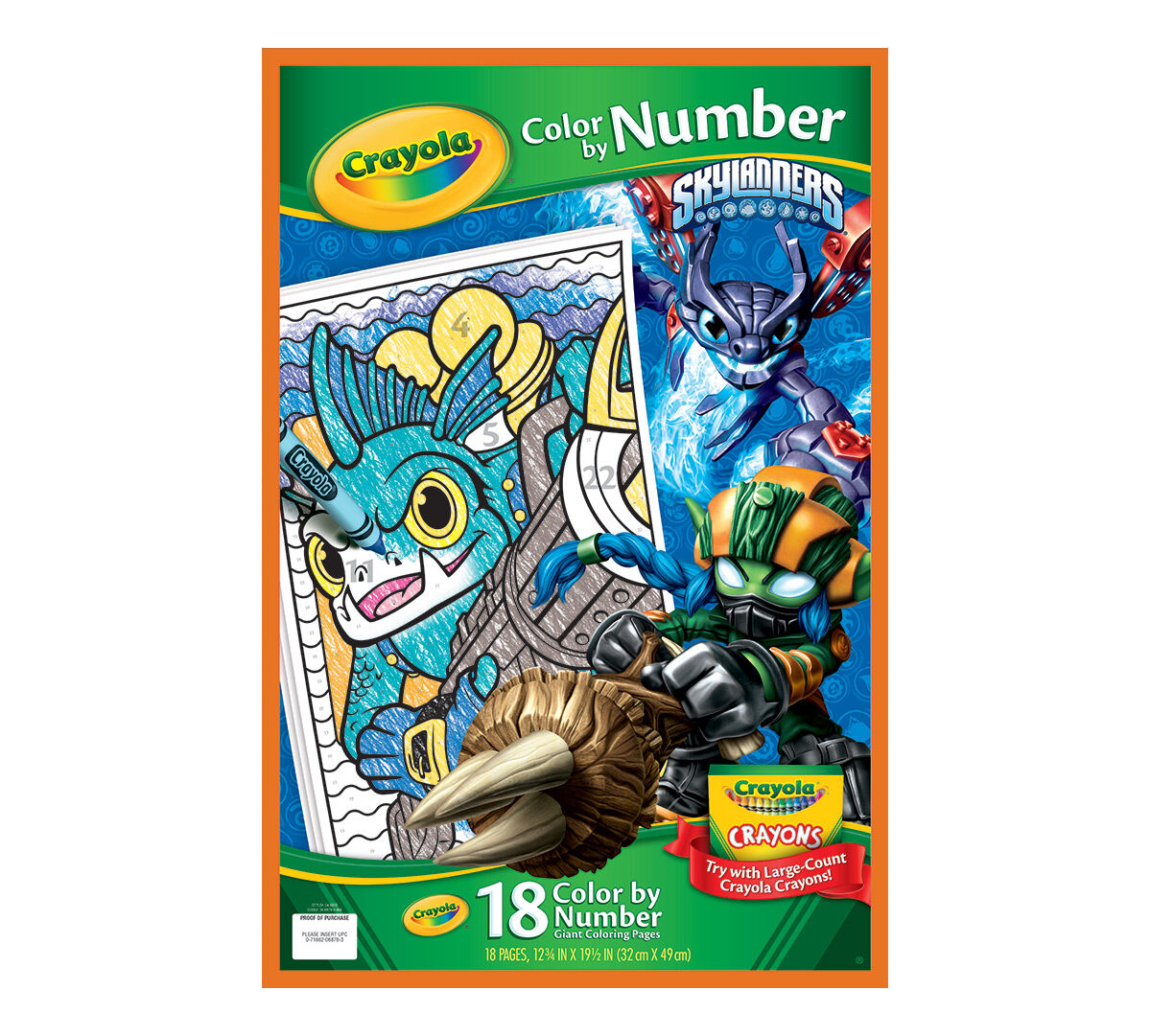 Color by Number, Skylanders - Crayola 14.5.0.8