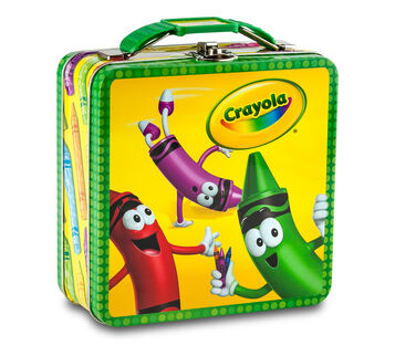 Characters Square Carry-All Tin