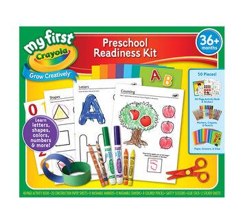 My First Crayola Preschool Ready Kit
