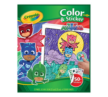 Color & Sticker, PJ Masks