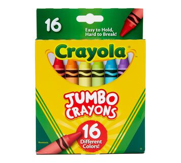Crayola Jumbo Crayons 16 count front view