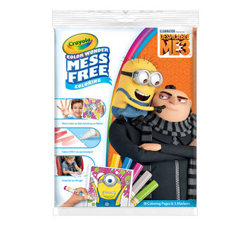 Color Wonder Coloring Pad & Markers, Despicable Me 3