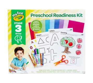 My First Crayola Preschool Readiness Kit Front View