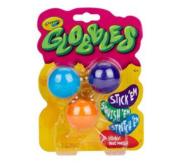 Globbles 3 Count front view