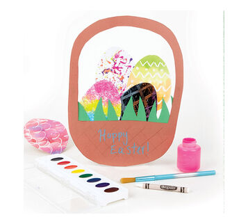 Egg Decorating Kit Finsihed Outcome