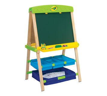 Draw 'N Store Wood Easel