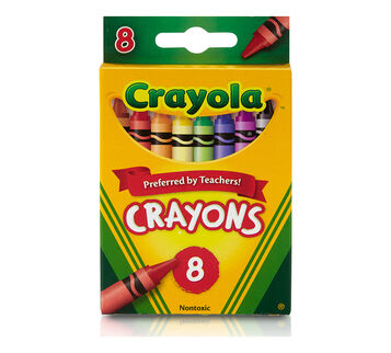 8 ct. Crayons