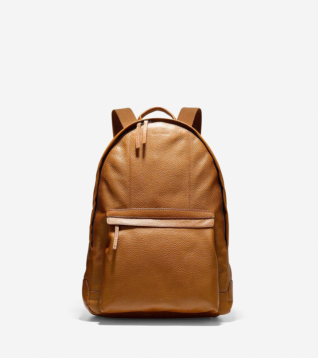 688caa1eb4 Mens Wayland Backpack in Tan | Cole Haan | Salesforce Commerce Cloud ...