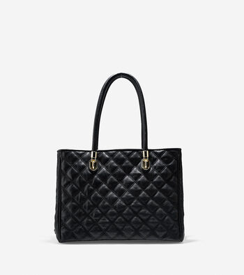 Benson Quilted Tote