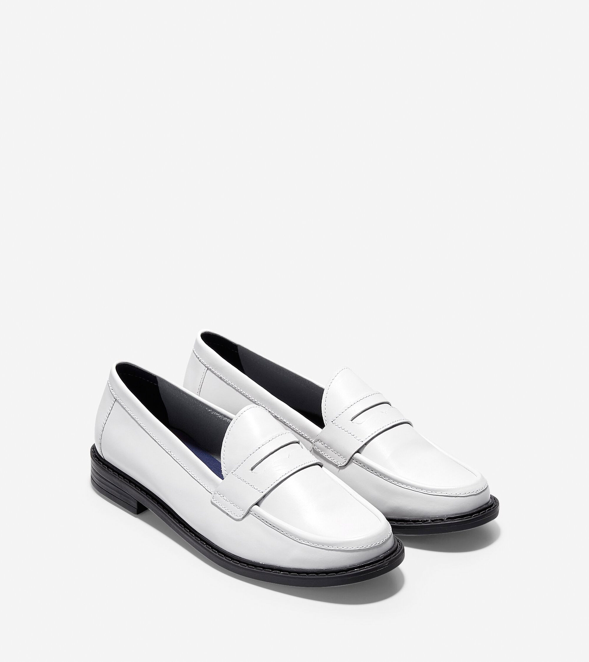 09adb521c0f Pinch Campus Penny Loafers in Optic White
