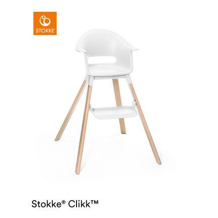 Chaise haute évolutive Clikk - Blanc
