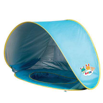 Tente piscine Pop-Up - Plage bleu