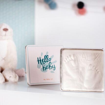 Baby Art Magic Box moulage d'empreintes blanc