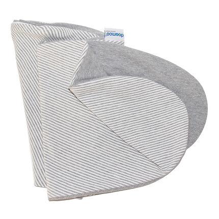Housse coussin de maternité Doomoo - Classic Grey gris