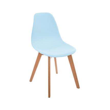 Chaise de table enfant - Bleu