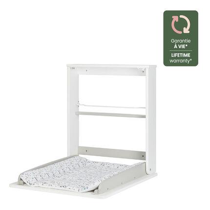 Table à langer murale Plouf blanc
