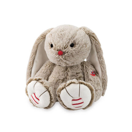 Peluche collection Rouge - Lapin sable marron