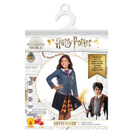 Déguisement fille Gryffondor Harry Potter taille 5-7 ans