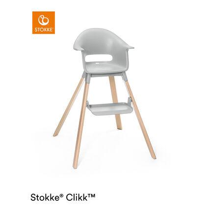 Chaise haute évolutive Clikk - Gris