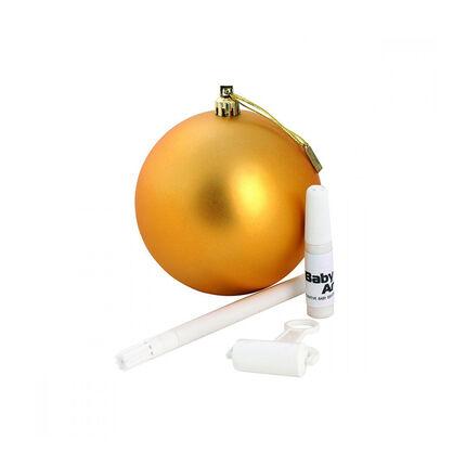 Boule de Noël à personnaliser – Gold jaune