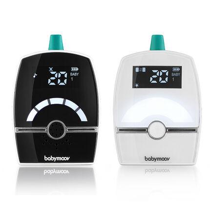 Babyphone audio Premium Care blanc/noir