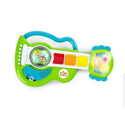 Jouet Guitare lumineuse Rattling Rockstar 6 Mélodies