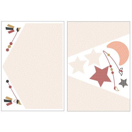 Stickers muraux Home - Timouki orange
