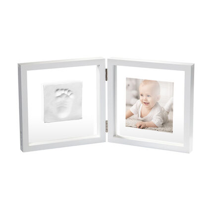Moulage d'empreintes Baby Art My Baby Style 3D en verre transparent