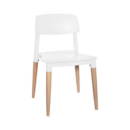 Chaise de table pour enfant Design - Blanc