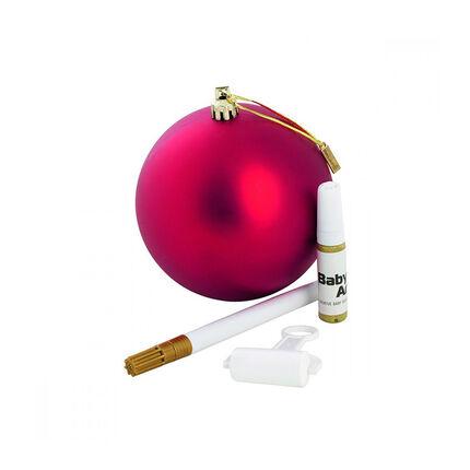 Boule de Noël à personnaliser – Rouge