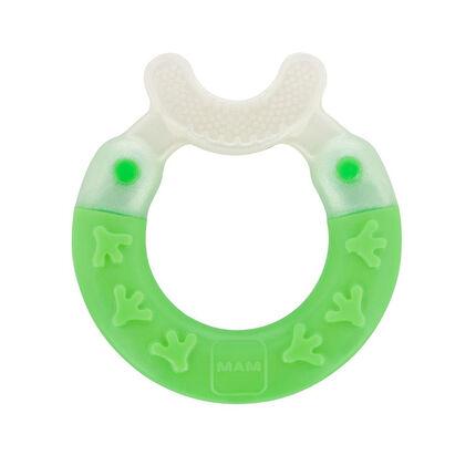 Anneau de dentition Bite & Brush vert