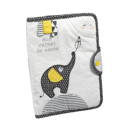 Protège carnet de santé Babyfan - 17 x 25 cm gris