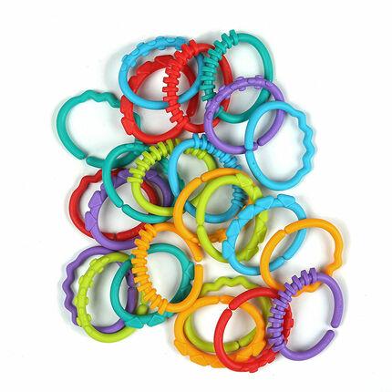 Jeu de forme - Anneaux Multicolores