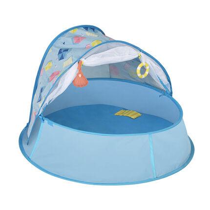 Nid 3-en-1 piscine, lit, aire de jeu - Aquani bleu