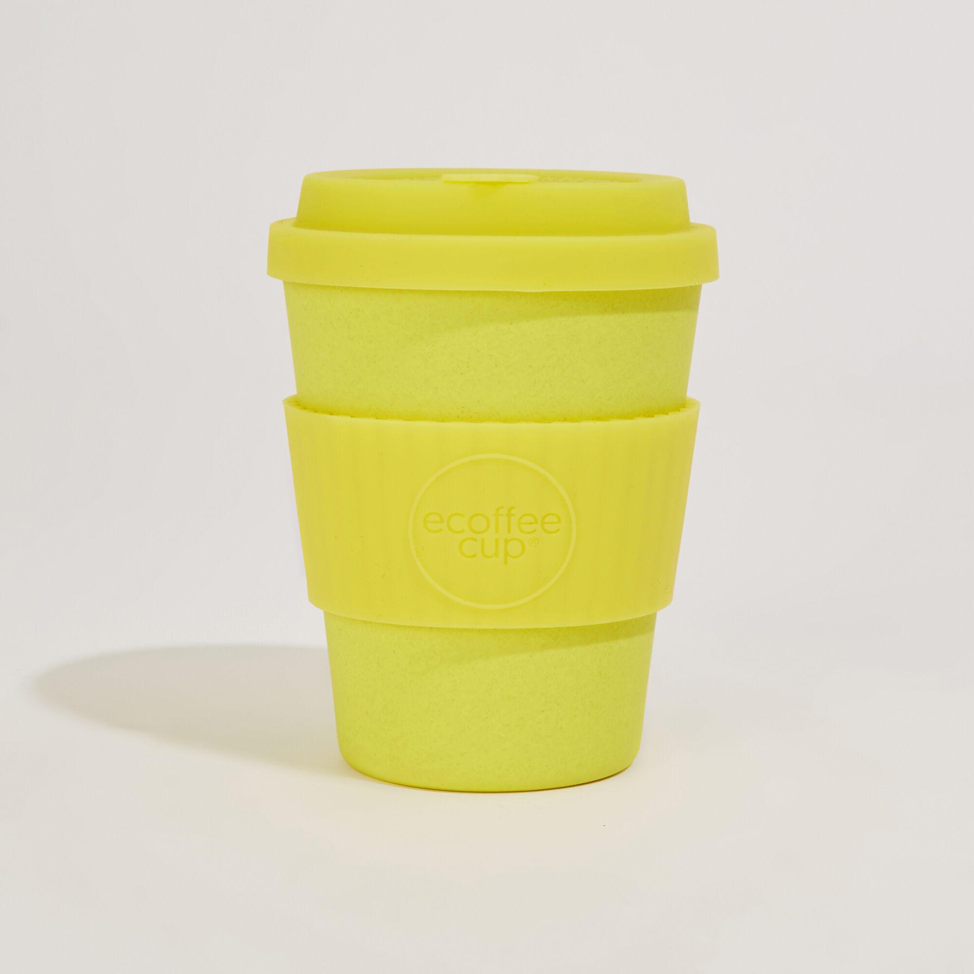 Warehouse, Ecoffee Reusable Coffee Cup Yellow 1