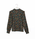 Warehouse, PAISLEY DITSY FLORAL TOP Multi 0