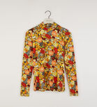 Warehouse, FLORAL FUNNEL NECK TOP Multi 0